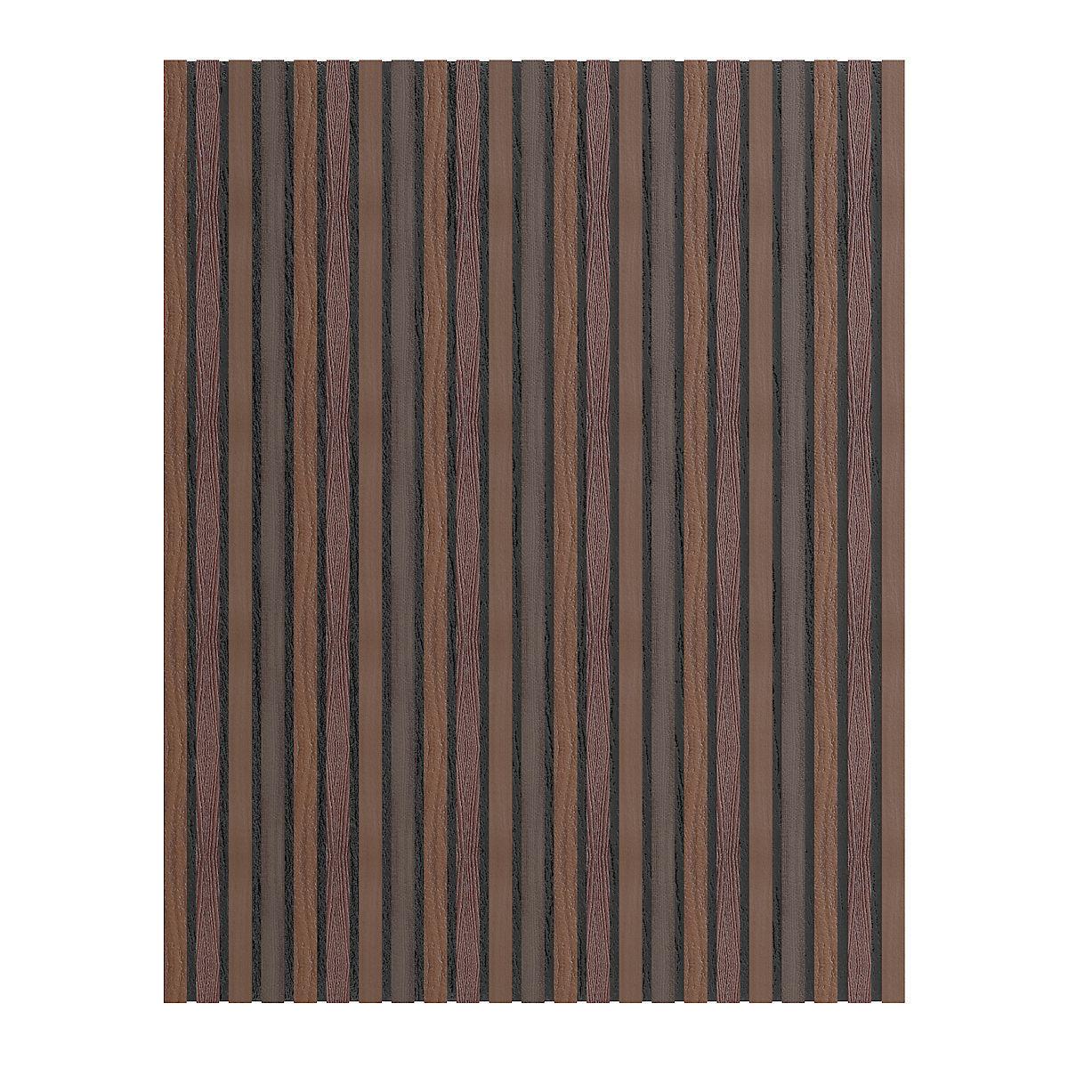 Dark Wood Wall Panel