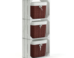 3D Basket Shelf