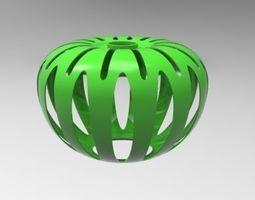 Decorative Lampshade 3d model light