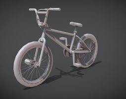 BMX Bicycle 3D print model