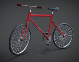 Modern Bicycle 3D model