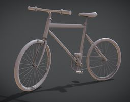 Modern Bicycle 3D printable model
