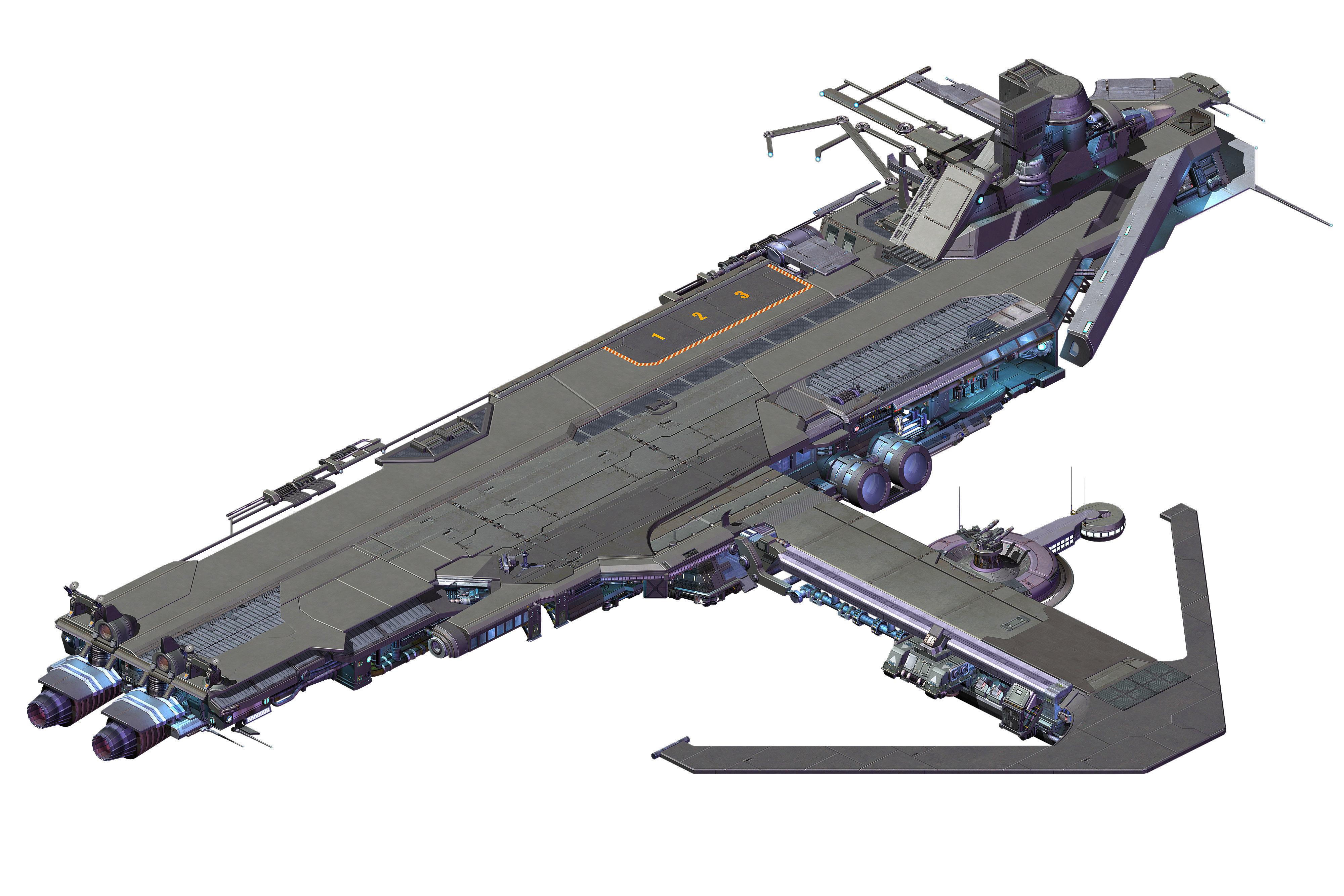 Spaceship - Catapult 01