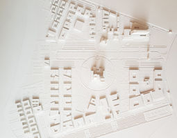 Site Plan for University 3D printable model