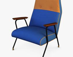 midnight ikat chair 3d