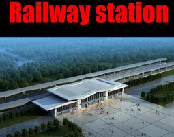 railway station 024 3d