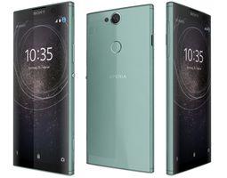 Sony Xperia XA2 Plus Green 3D model