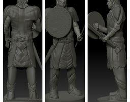 Human Soldier 3D print model