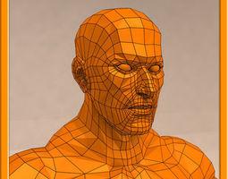 REALISTIC Male muscle set - 02 3D Model