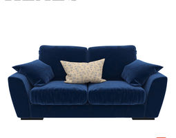 Slouch 2 Seater Sofa 3D model