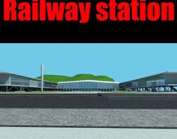 railway station 029 3d