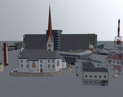 Innsbruck High Rise Pack 3D model