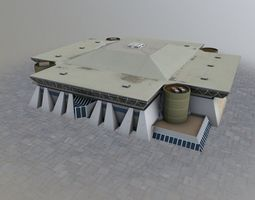 Nice La Palestre 3D model