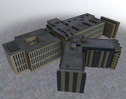 3D model Nice Centre Hospitaler2