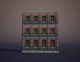 3D asset realtime Apartment House