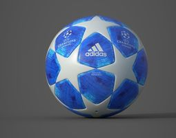 3D UEFA Champions League Official Ball 2019