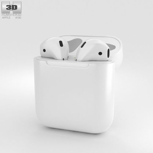 3d Model Airpods Apple Airpods Cgtrader