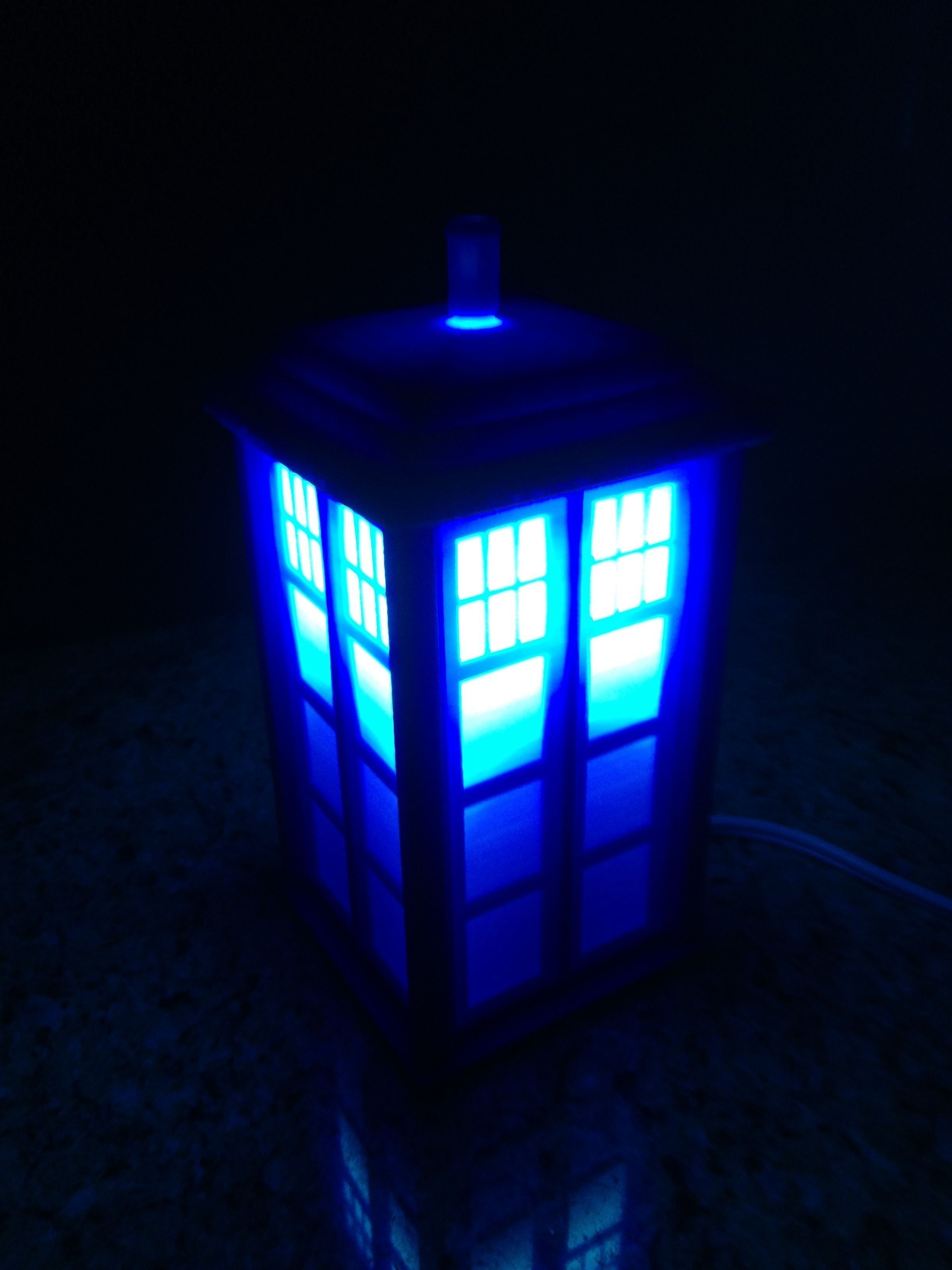 Tardis lamp or circa 1960s london police call box 3d model 3d tardis lamp or circa 1960s london police call box 3d model stl 2 mozeypictures Gallery