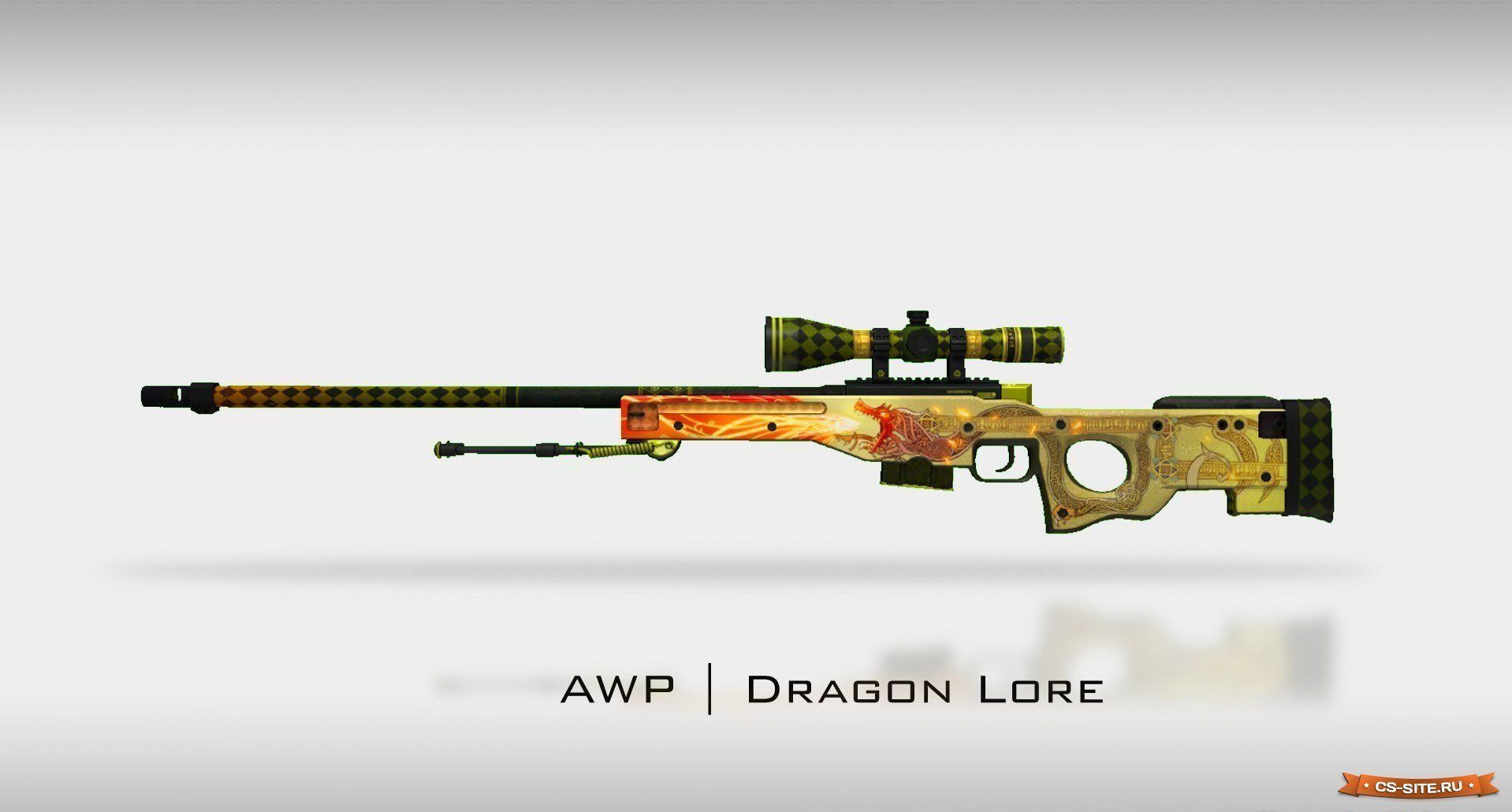 3D AWP I Dragon Lore   CGTrade...