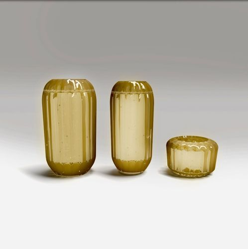 3d Model Murano Vases From Paolo Castelli Design By 1