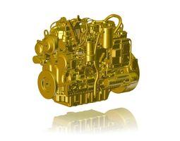 engine cat c6 3d model