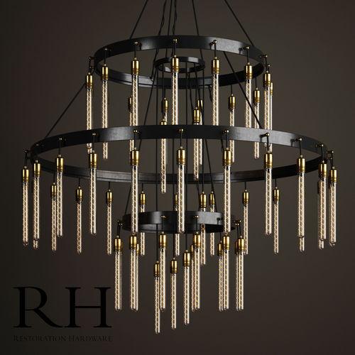 3 tier chandelier diy 3d model axis 3tier chandelier by restoration hardware