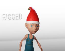 CARTOON ELF 3D asset