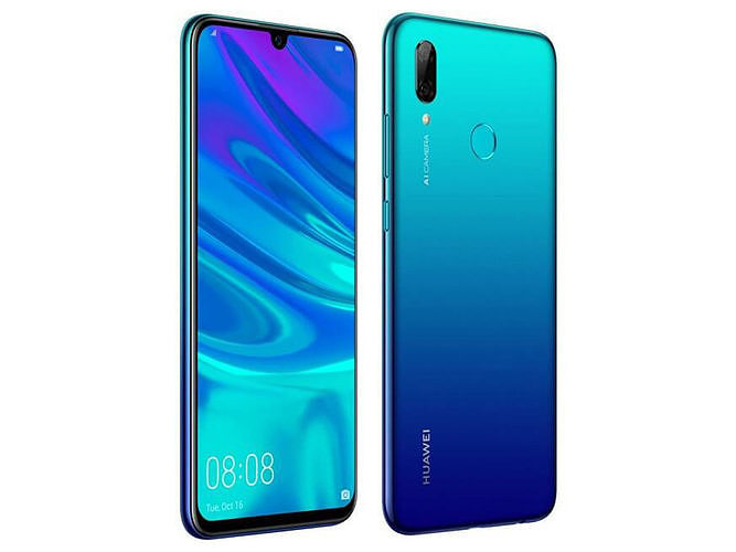 huawei p smart 2019 aurora blue 3d model max obj mtl fbx 1
