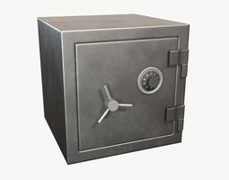 3D asset Classic Safe