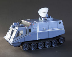 SHADO Mobile Control Vehicle from tv series 3D print model