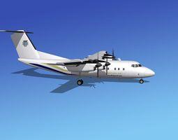 Dehavilland DHC-7 Berjaya Air 3D