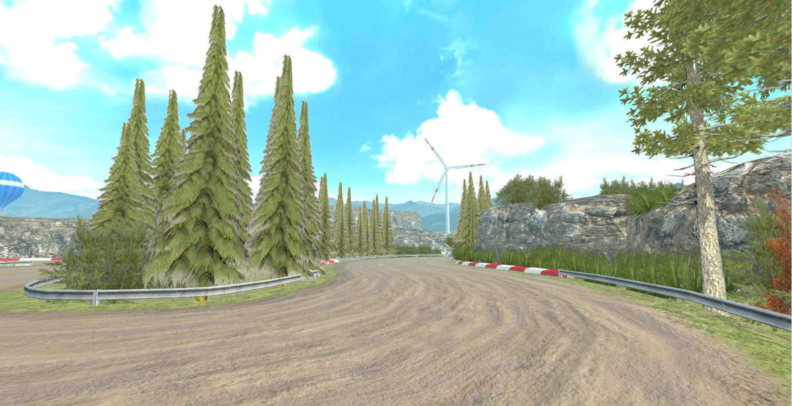 Race Rally Track Road Environment Pack For Mobile Games Unity3d | 3D model