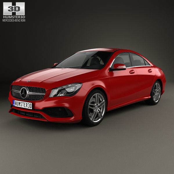 Mercedes-Benz CLA-Class C117 AMG 2016 Mercedes-benz 3D