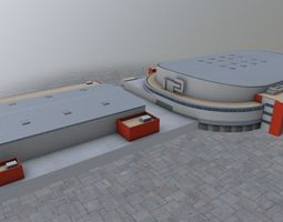 3D asset Karlovy Vary KV Arena