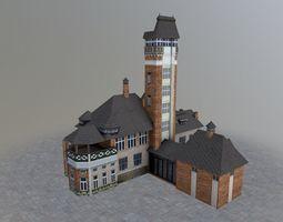 Karlovy Vary Building 3D model