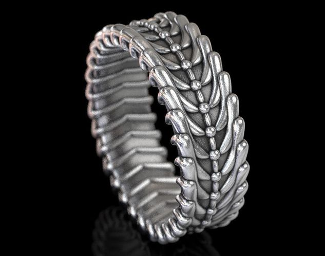 exclusive ring for stylish people 419 3d model stl 3dm 1