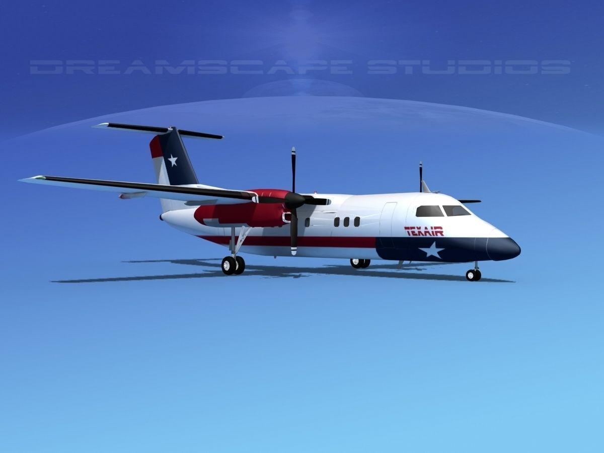 Dehaviland DHC-8 100 Texair
