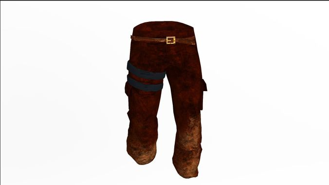 20fbac08cd92 pants 3d model max obj mtl fbx blend dae 1