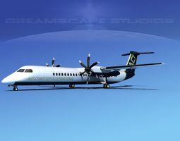 3D Dehaviland DHC-8 400 Air Charter Intl