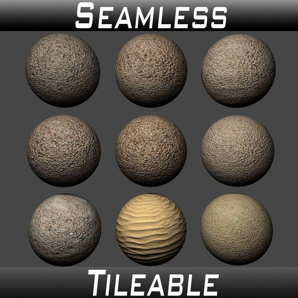 Ground Sand Texture Pack