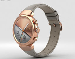 3D model Asus Zenwatch 3 Rose Gold android