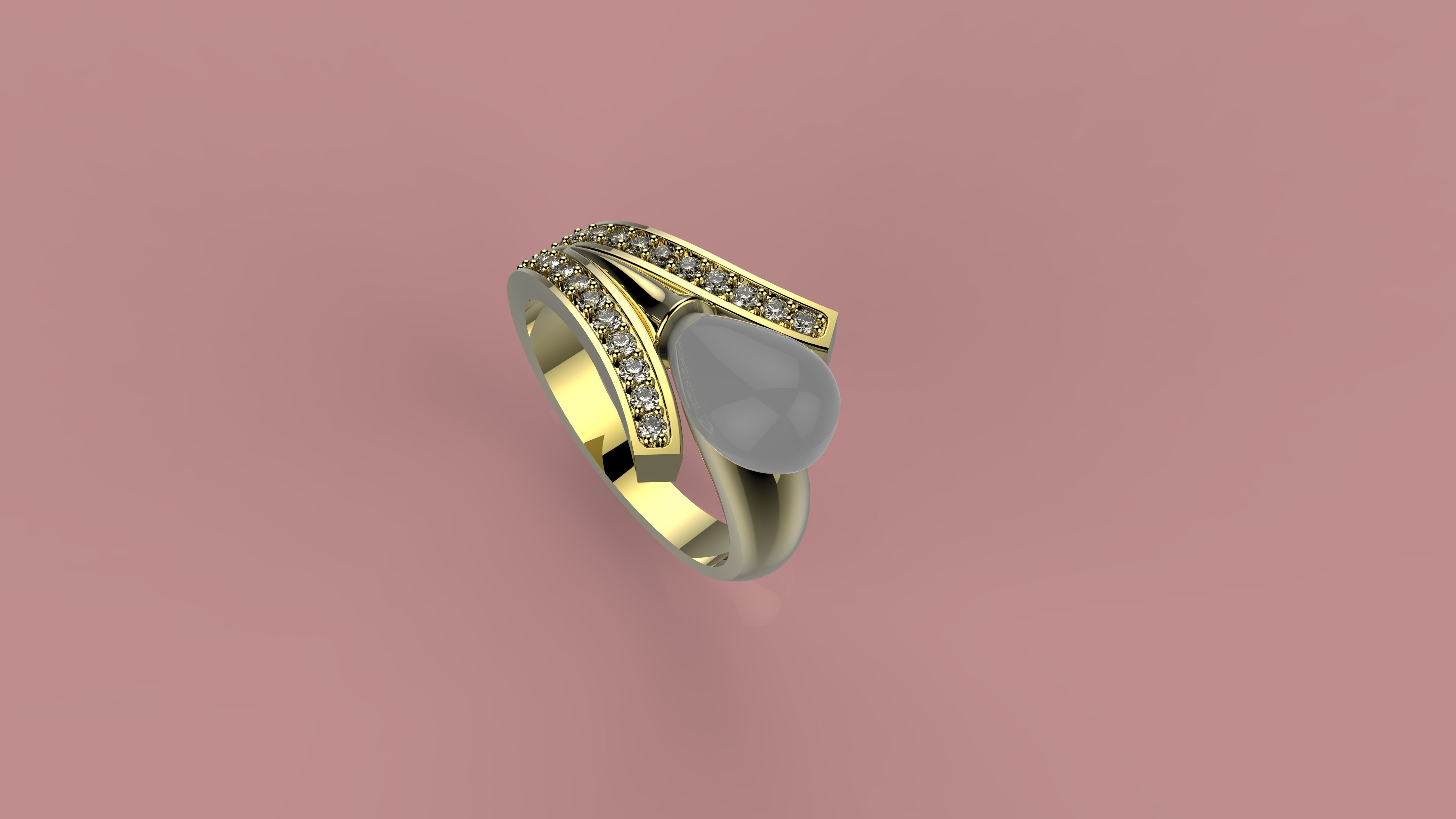 3D print model B RINGS N3 | CGTrader