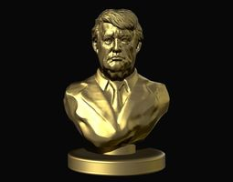 3D printable model Donald Trump