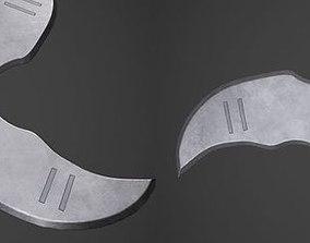3D Low Poly Shuriken Pack - 3 Variation
