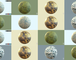3D Texture Pack 4in1