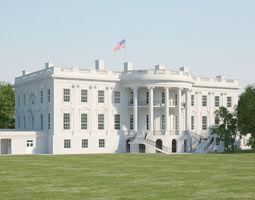 states 3D model White House