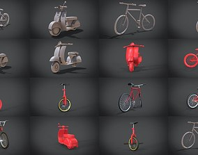 3D bike collection model