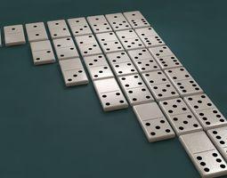 The Dominoes 3D model