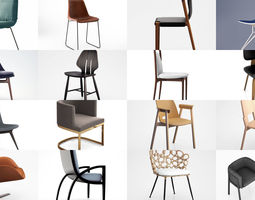 3D Dining Chairs