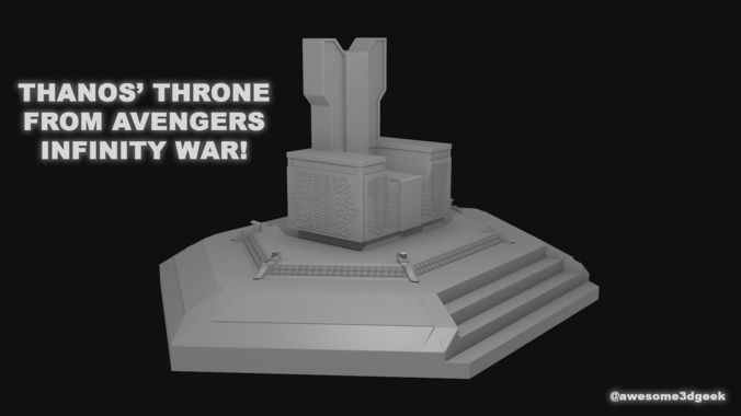 Thanos Throne from Infinity War